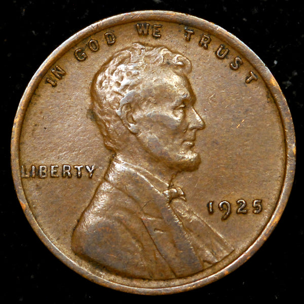 1925-P Lincoln Wheat cent - EF