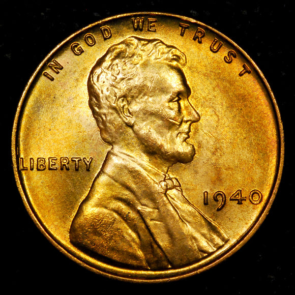 1940-P Lincoln Wheat cent - GEM BU