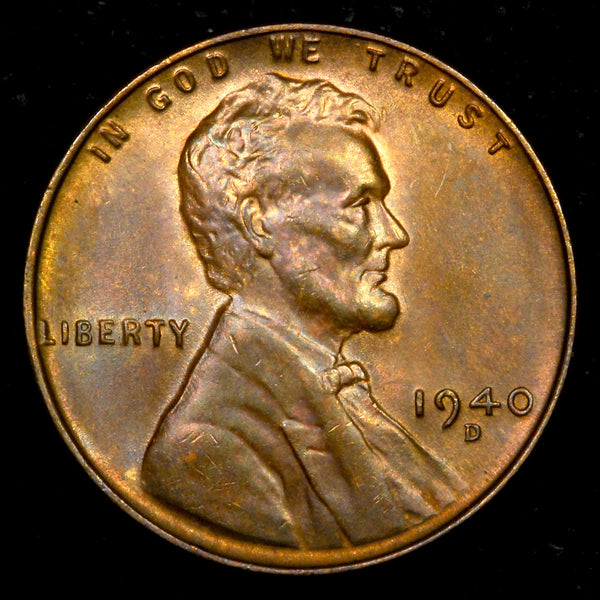 1940-D Lincoln Wheat cent - GEM Unc