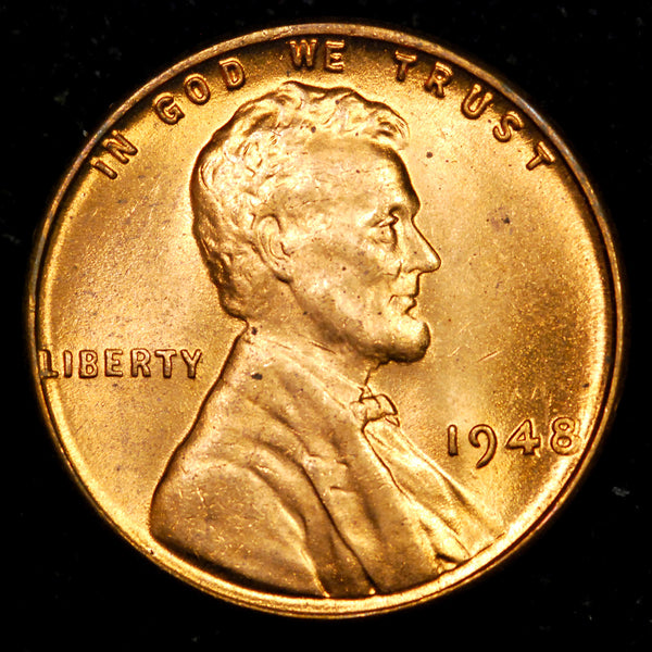 1948-P Lincoln Wheat cent - Ch-GEM BU