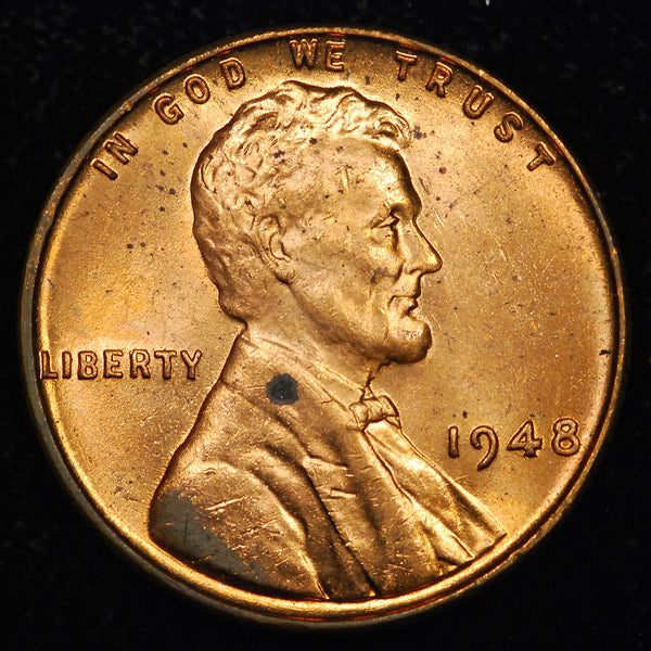 1948-P Lincoln Wheat cent - Ch BU