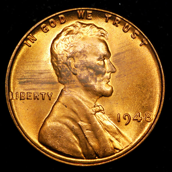 1948-P Lincoln Wheat cent - GEM MS