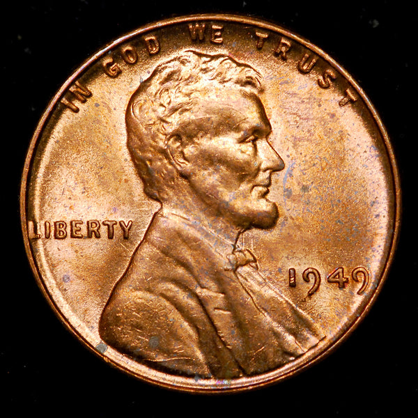1949-P Lincoln Wheat cent - Ch MS