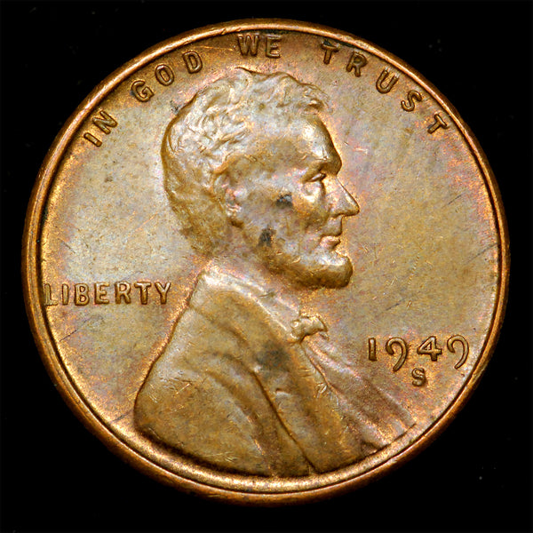1949-S Lincoln Wheat cent - Ch Unc