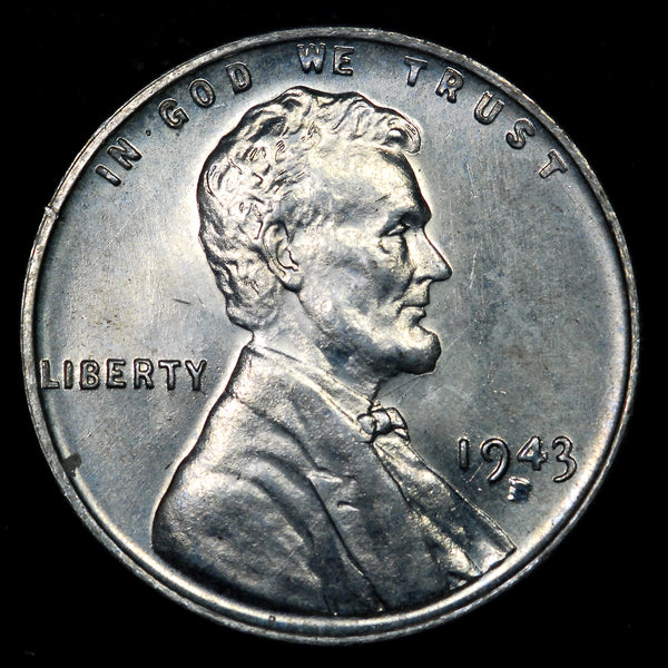 1943-D Lincoln Wheat cent - Ch-GEM BU