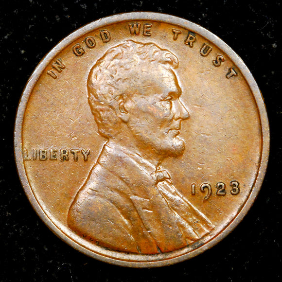 1923-P Lincoln Wheat cent EF