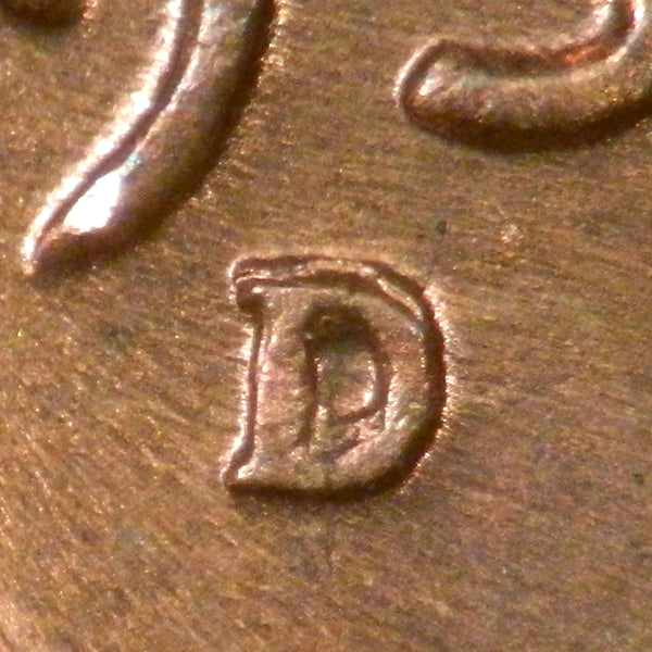1939-D Lincoln Wheat Cent : GEM MS : 1MM-001 (RPM-001)