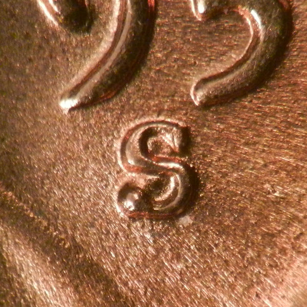 1955-S Lincoln Wheat Cent : Ch-GEM BU : 1MM-004 (RPM-004)