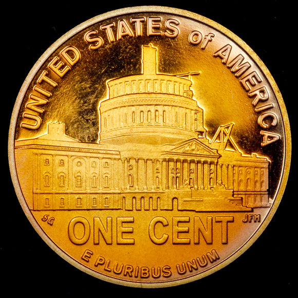 2009-S Proof Lincoln cent : GEM Prf. : TONED!! LP4 Presidency