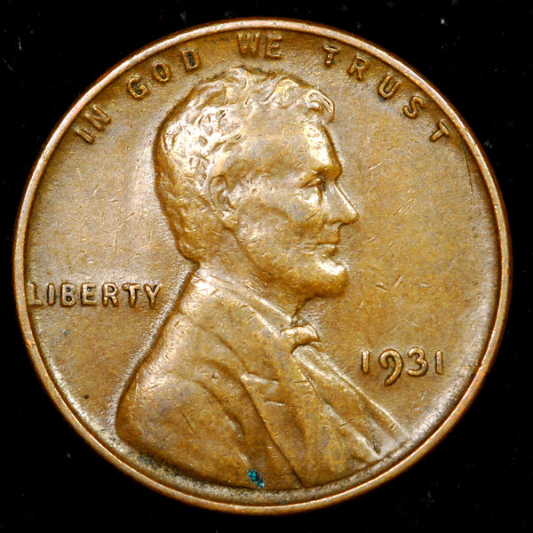 1931-P Lincoln Cent: EF