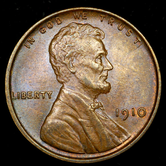 1910-P Lincoln Wheat Cent: Ch Unc
