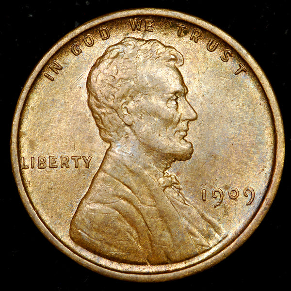 1909-P Lincoln Wheat Cent: Ch Unc