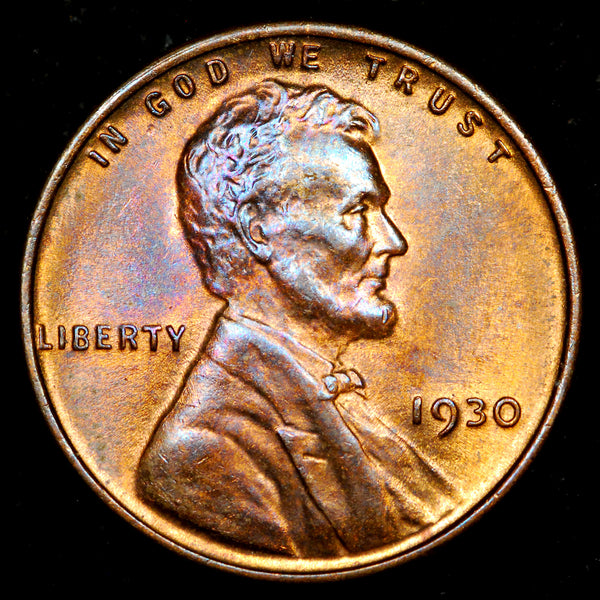 1930-P Lincoln Wheat Cent: Ch-GEM MS