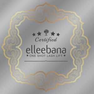 ELLEEBANA 12 x 12 Window  Decal: Border Design-Belmacil, Elleebana, Elleebana SPM-Fox River Spa Supply-Fox River Spa Supply