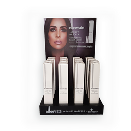 NEW ELLEEVATE Display (includes 16 count of Mascaras!)-Ellebana-Fox River Spa Supply-Fox River Spa Supply
