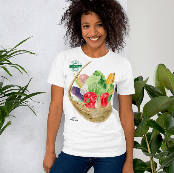 Certified 100% Vegan Short-Sleeve Unisex T-Shirt - thiennas-sweet-life