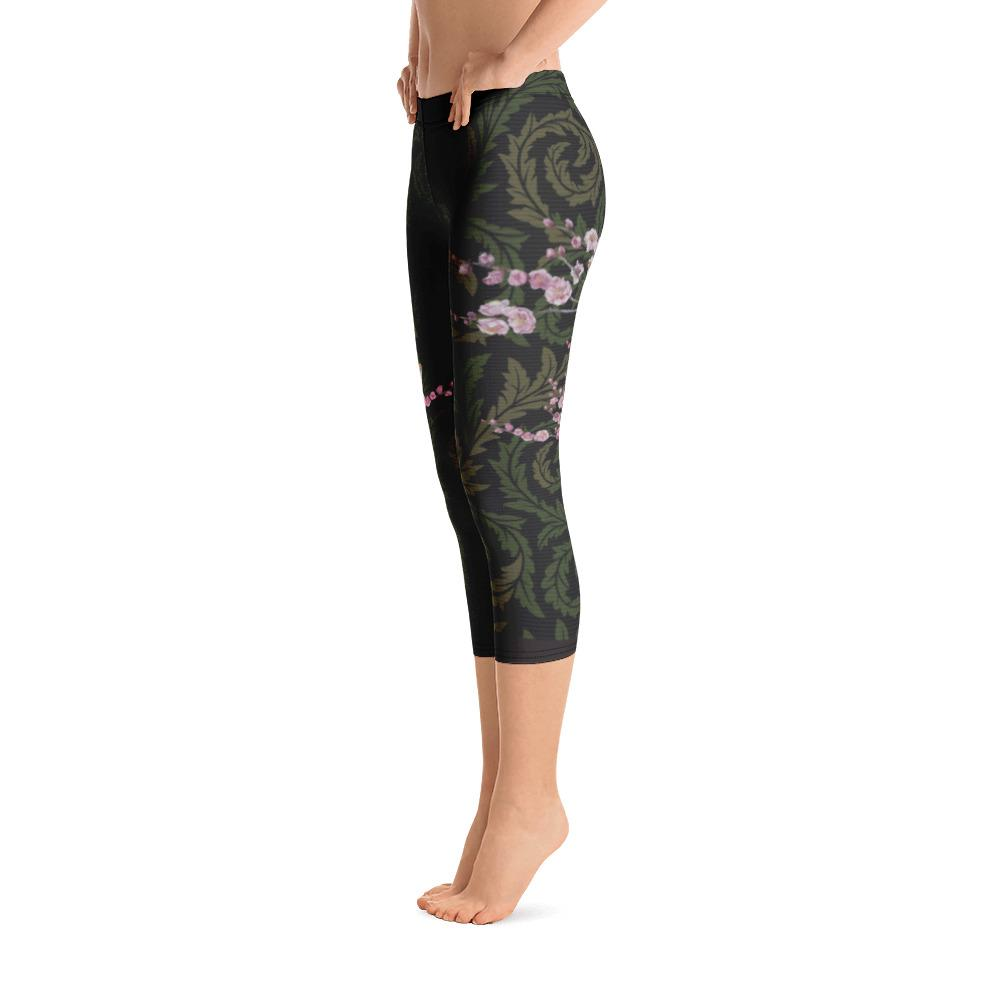 Singing Birds Capri Leggings - thiennas-sweet-life