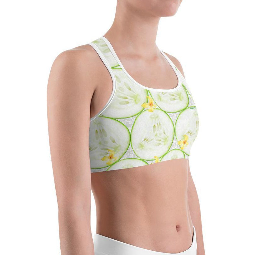 Cool as A Cucumber Sports Bras - Thienna's Sweet Life