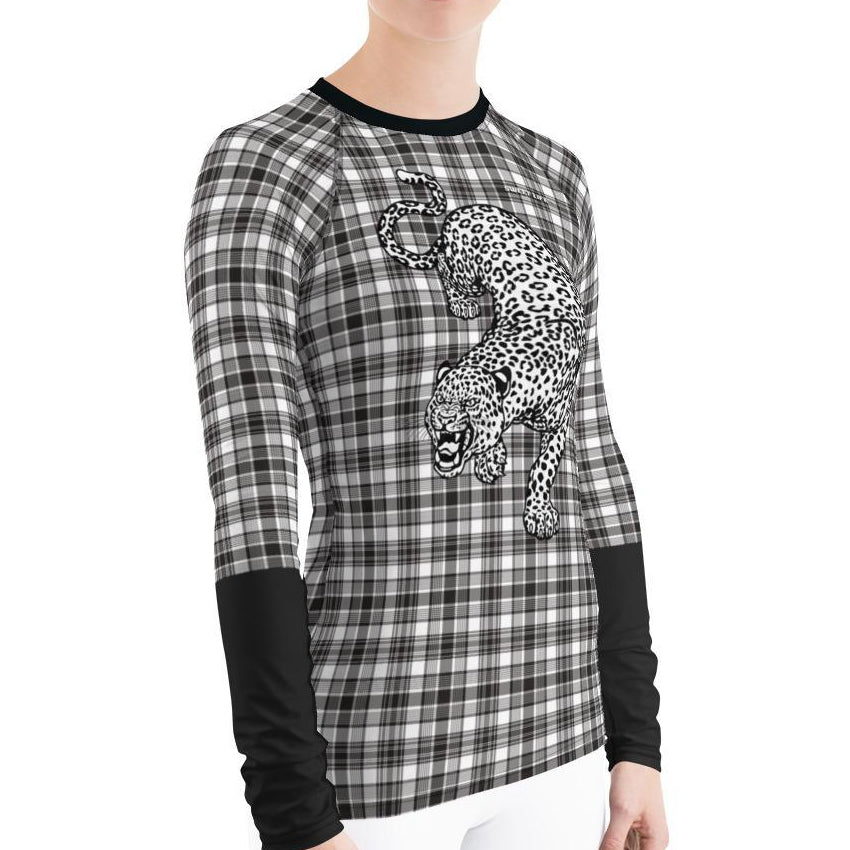 Classic Leopard Women's Rash Guard T-Shirts - thiennas-sweet-life