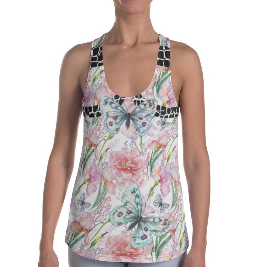 Butterfly Women's Tank Top - thiennas-sweet-life