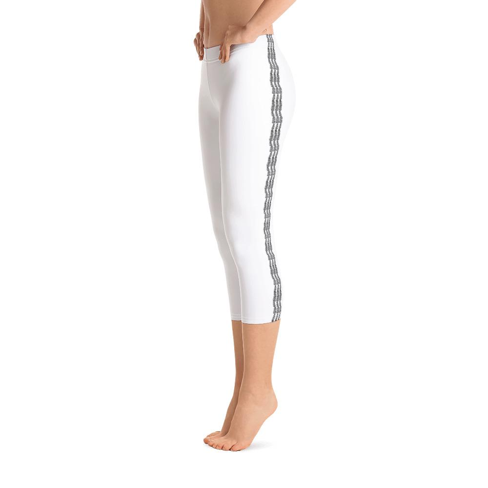 White Capri Leggings (Solid Color) - Thienna's Sweet Life