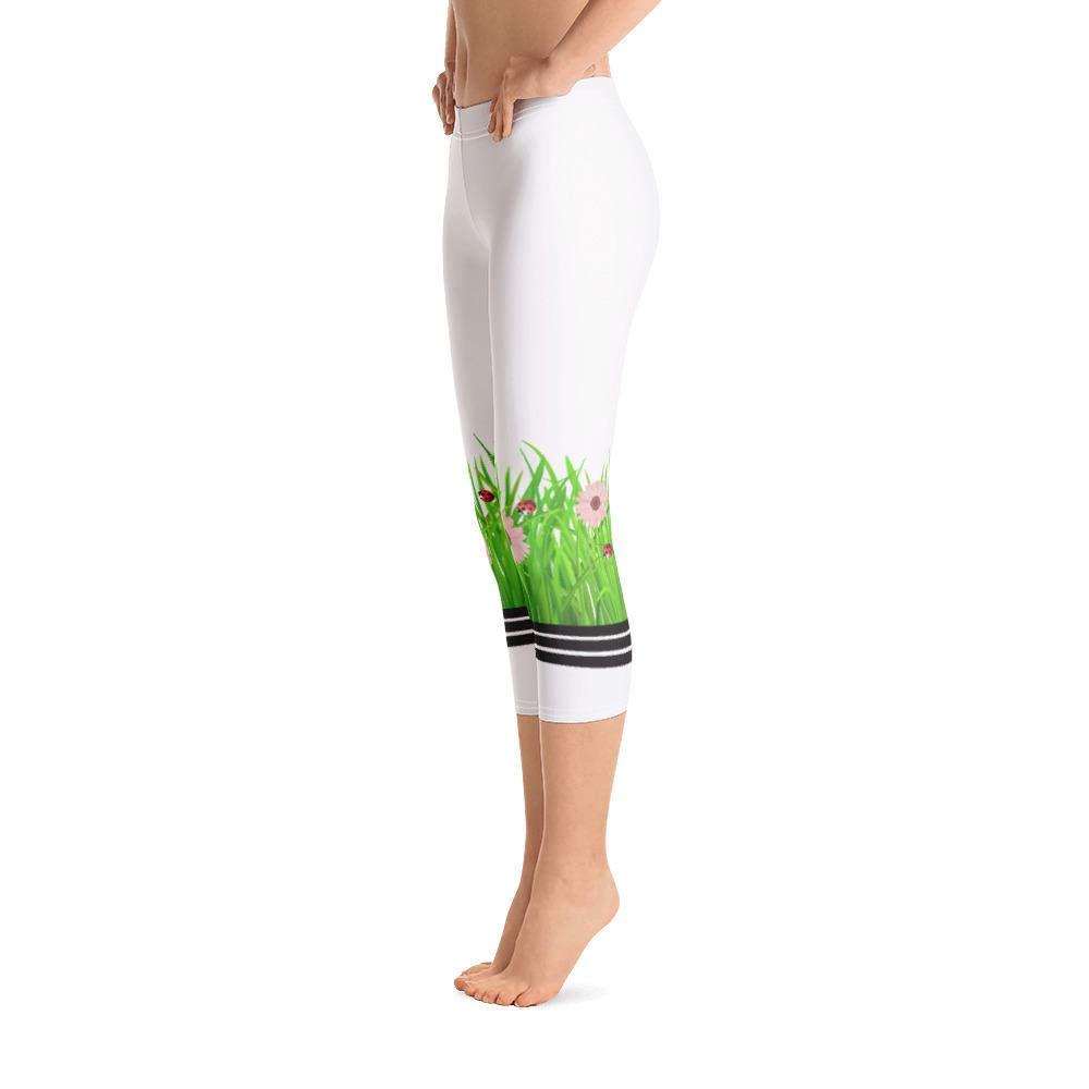 Wild Grass Capri Leggings - Thienna's Sweet Life