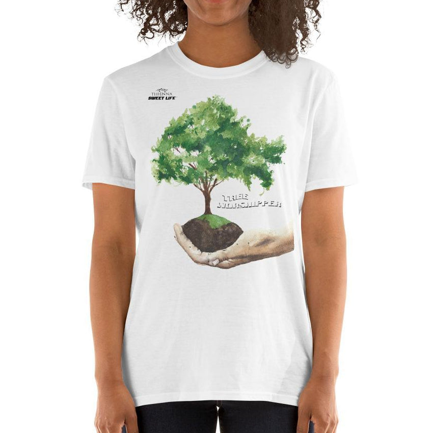 Tree Worshipper Short-Sleeve Unisex T-Shirt - thiennas-sweet-life