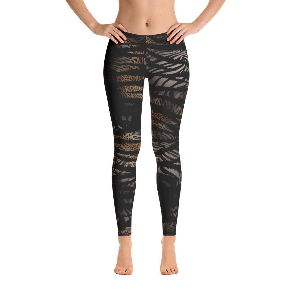 Wild Print Leggings - thiennas-sweet-life