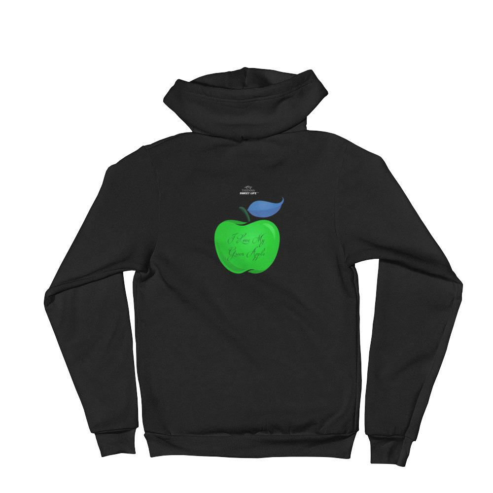 I Love My CandyLipz Green Apple Hoodie Sweater - thiennas-sweet-life