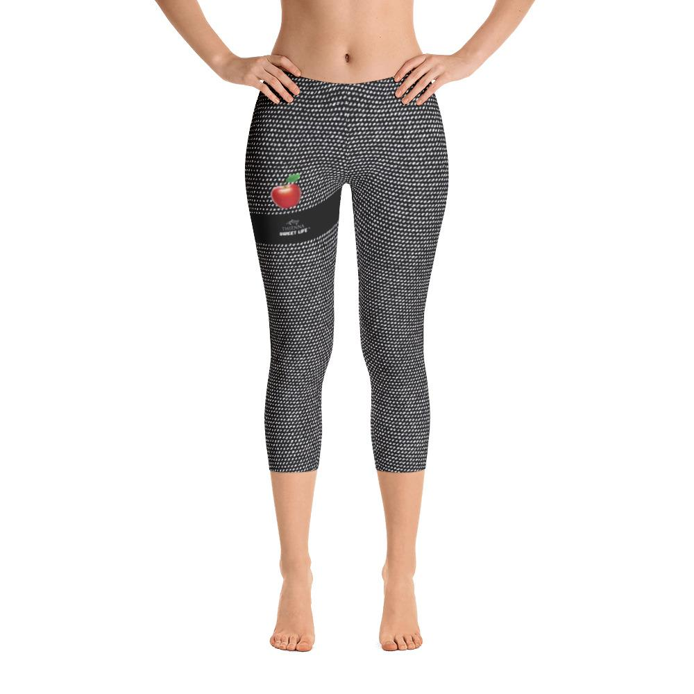 Red Apple Capri Leggings - thiennas-sweet-life