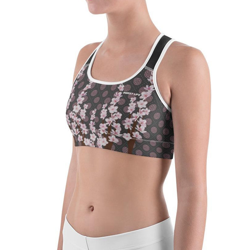 Apricot Blossom Sports Bras - Thienna's Sweet Life