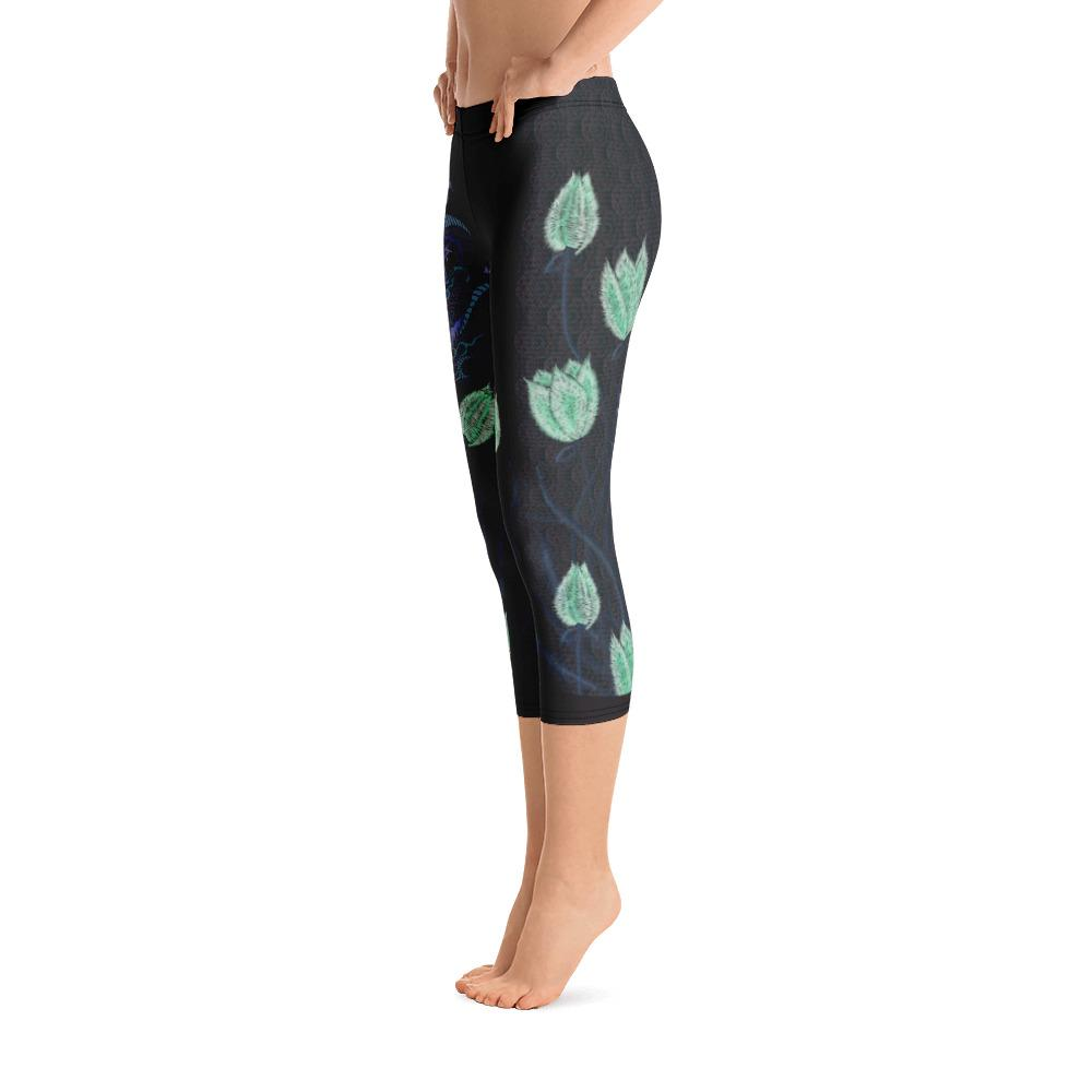 Dragon Capri Leggings - Thienna's Sweet Life