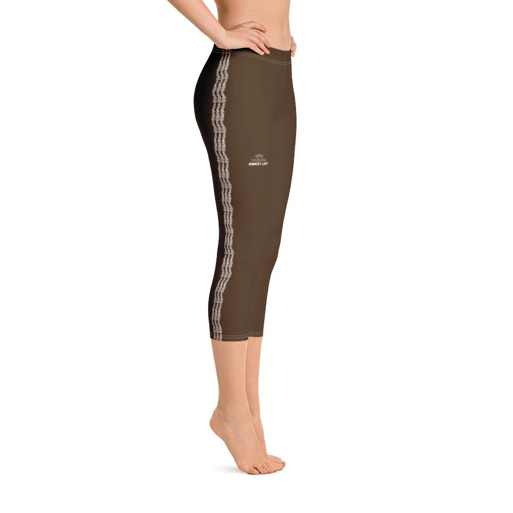 Espresso Capri Leggings (Solid Colors) - thiennas-sweet-life