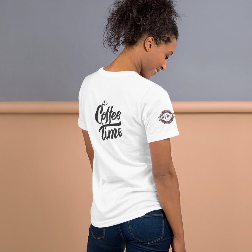 It's Coffee Time Short-Sleeve Unisex T-Shirt (4-Sided Printing) - Thienna's Sweet Life