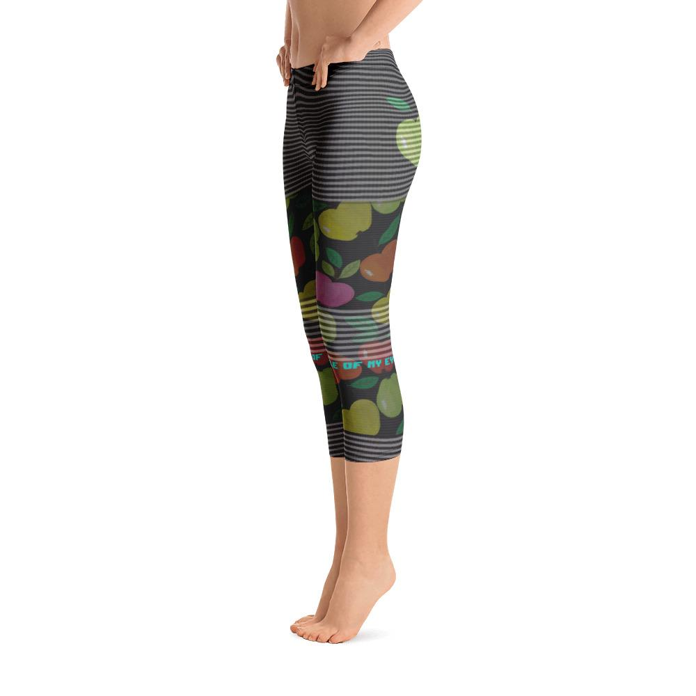 You Are The Apple of My Eye Capri Leggings - thiennas-sweet-life