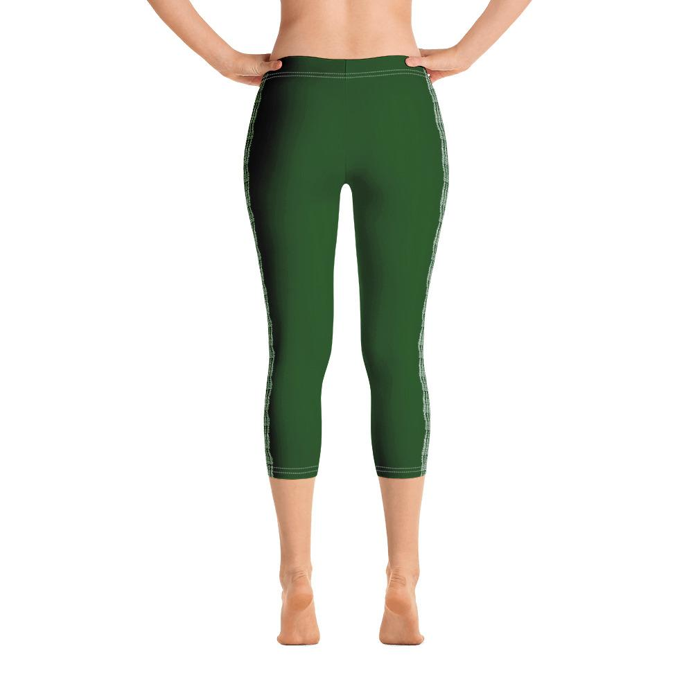 Hunter Green Capri Leggings (Solid Colors) - thiennas-sweet-life