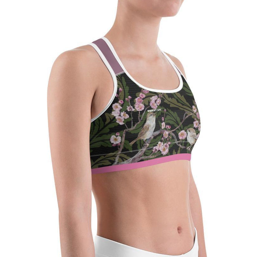 Singing Birds Sports Bras - thiennas-sweet-life