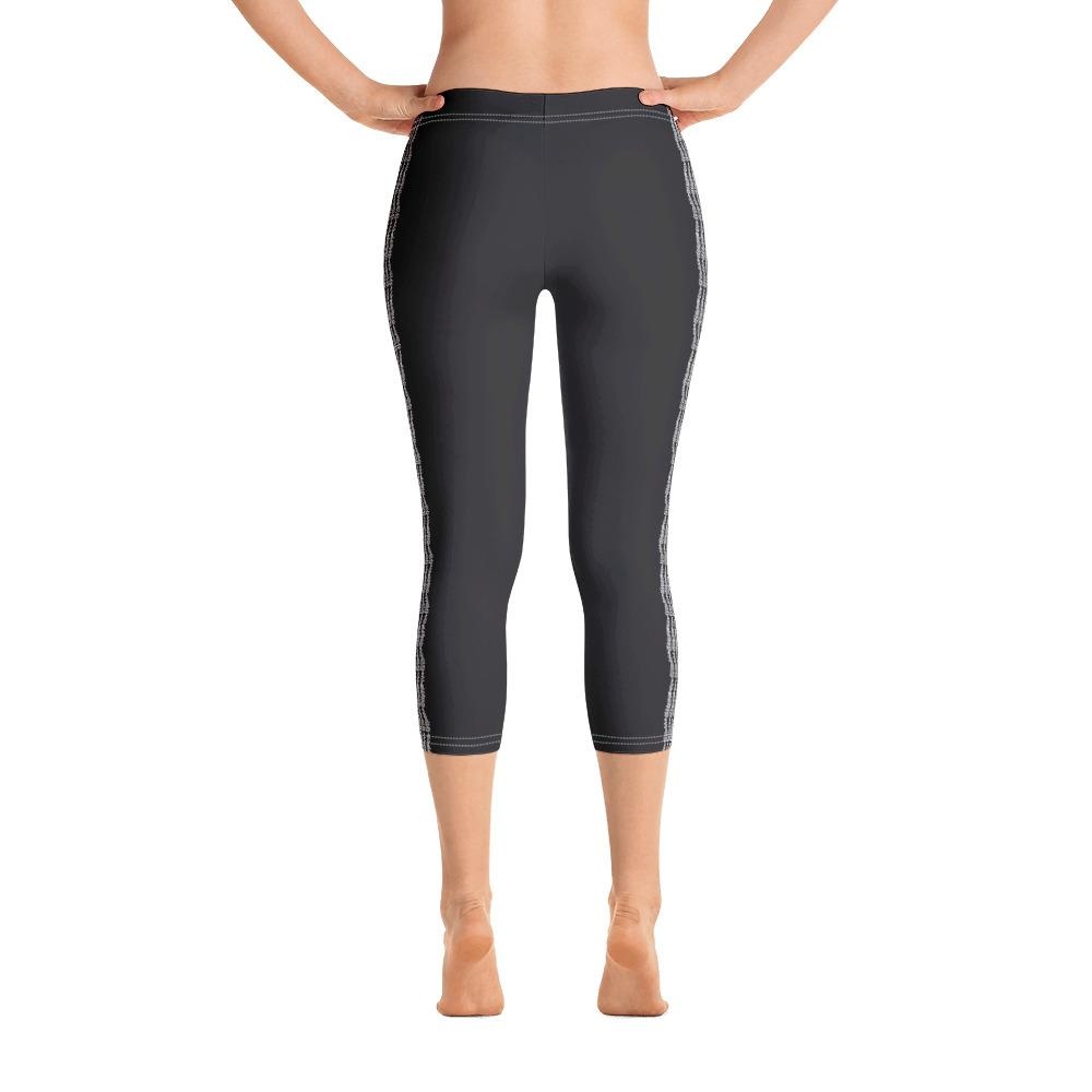 Dark Gray Capri Leggings (Solid Colors) - thiennas-sweet-life