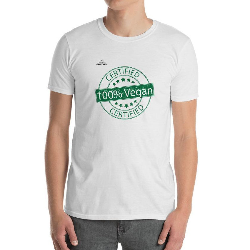 Certified 100% Vegan Short-Sleeve Unisex T-Shirt - Thienna's Sweet Life
