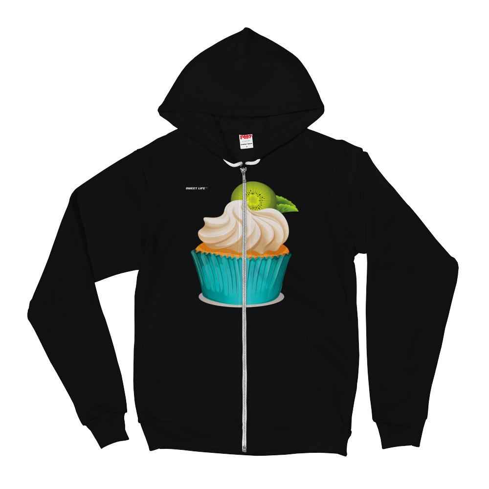 Kiwi Cream Cupcake Hoodie Sweater - thiennas-sweet-life