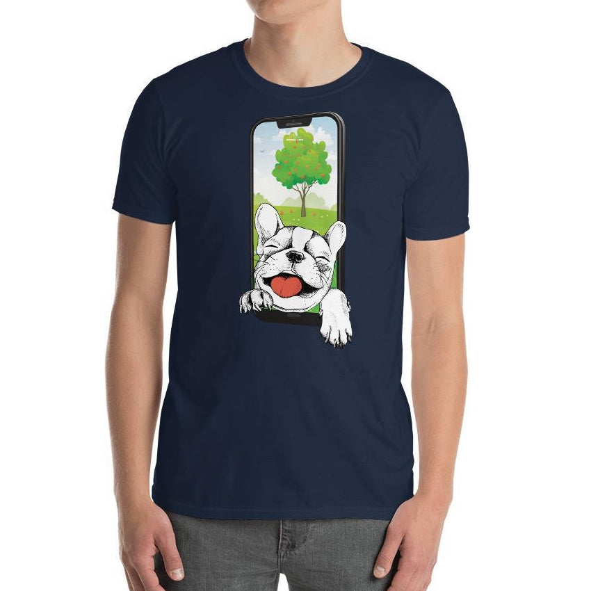 Happy Pug Dog Short-Sleeve Unisex T-Shirt - Thienna's Sweet Life