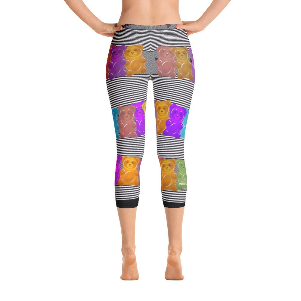 Gummy Bear Capri Leggings - Thienna's Sweet Life