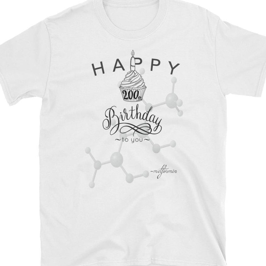 Happy 200th Birthday Short-Sleeve Unisex T-Shirt - thiennas-sweet-life