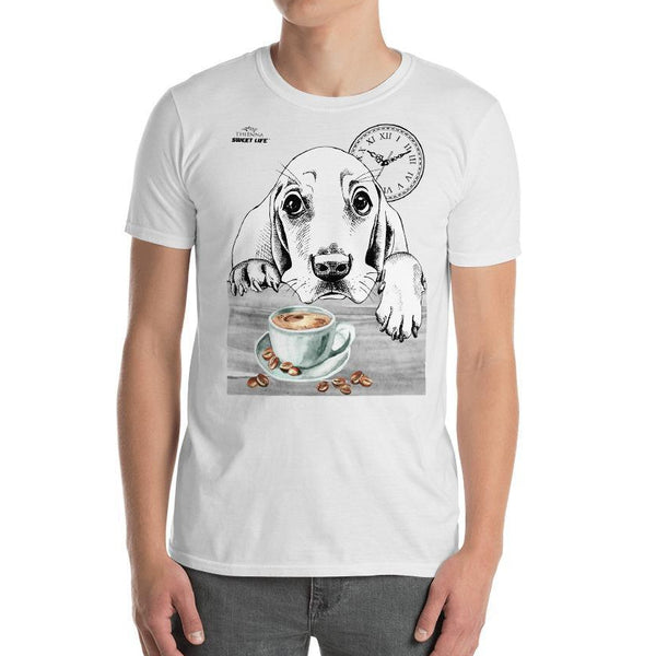 Coffee Time Short-Sleeve Unisex T-Shirt - thiennas-sweet-life
