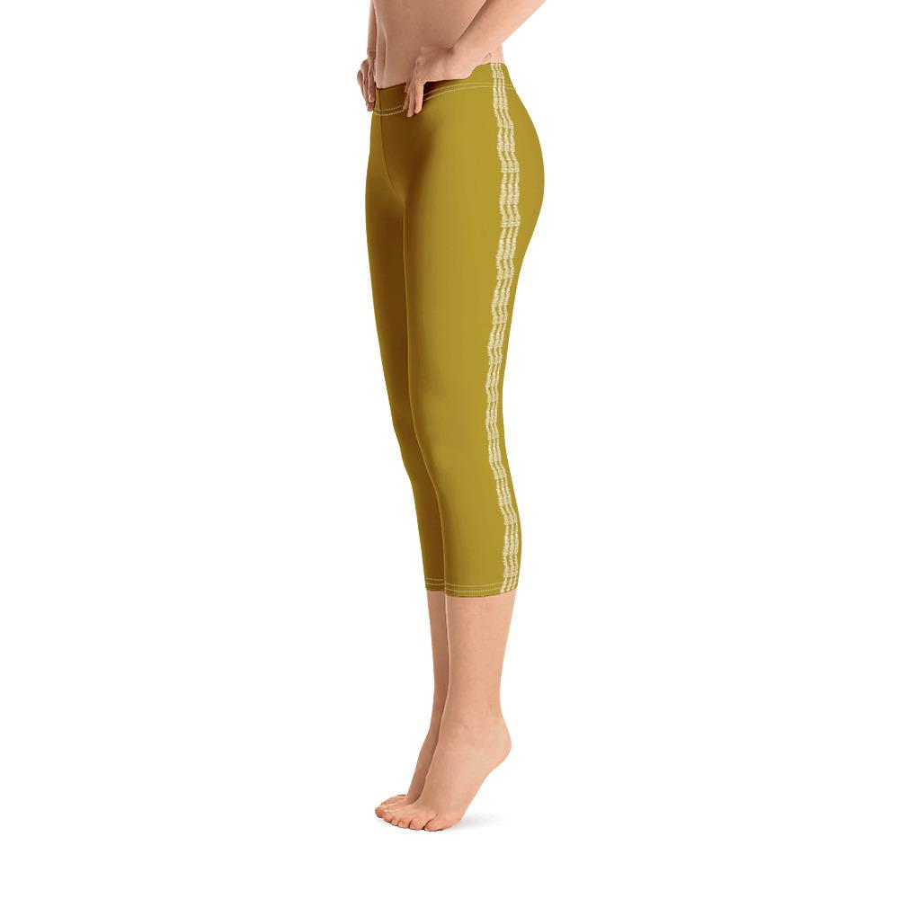 Mustard Capri Leggings (Solid Colors) - thiennas-sweet-life