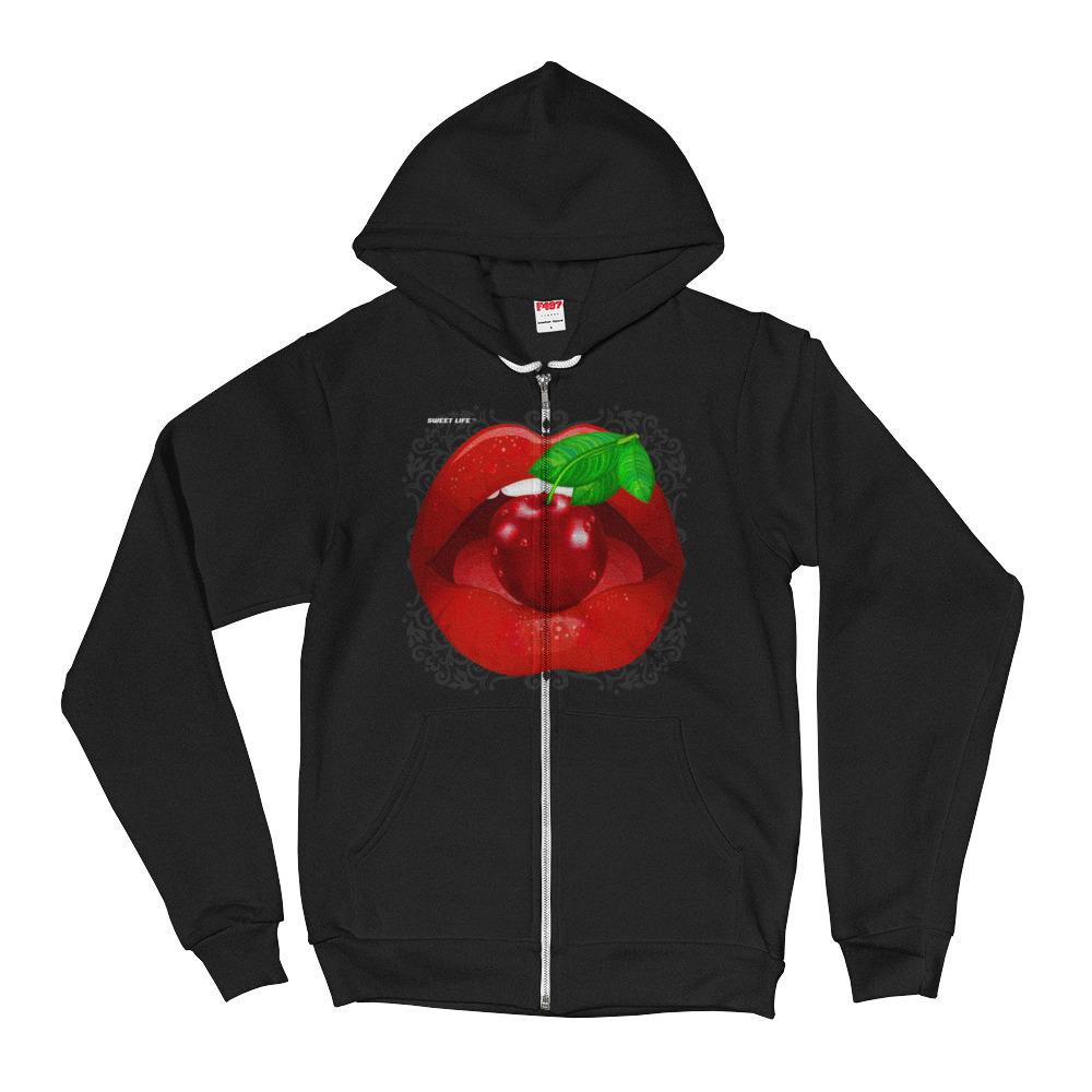 CandyLipz Luscious Lips Hoodie Sweater - thiennas-sweet-life