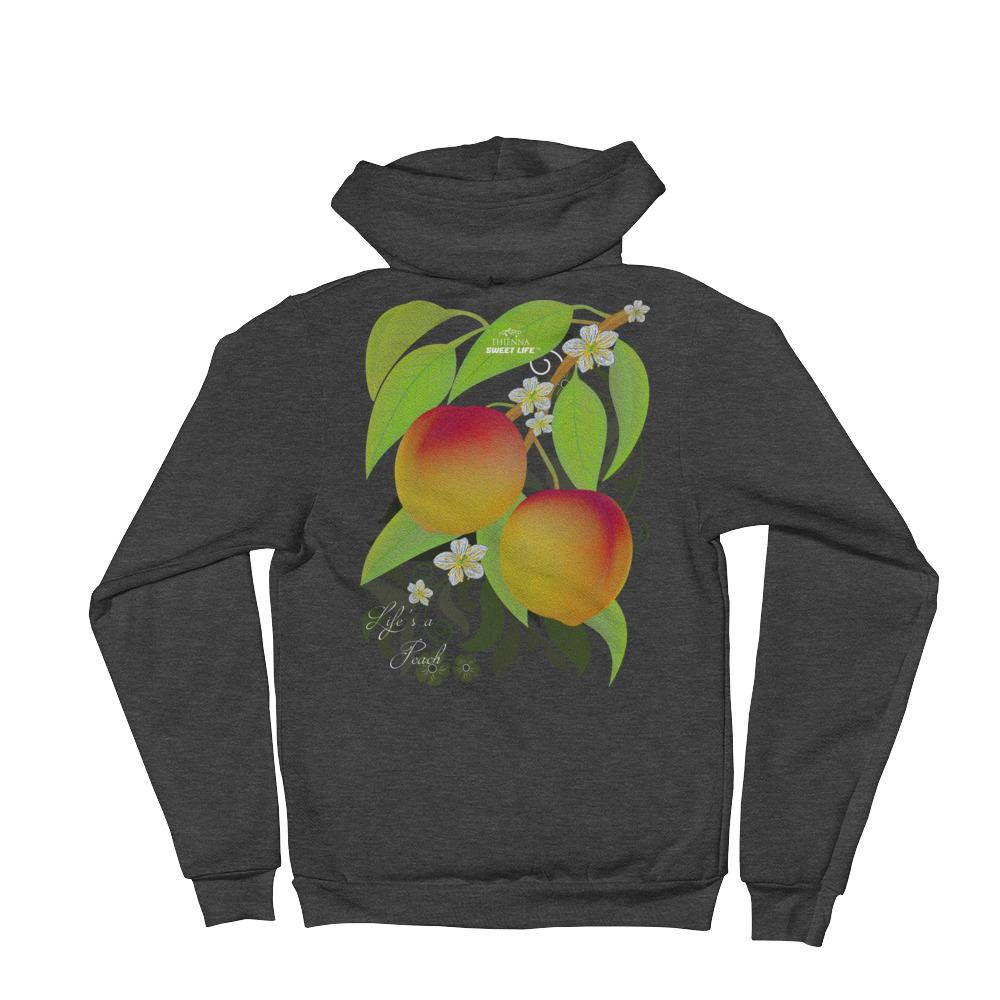 Life is a Peach Hoodie Sweater - thiennas-sweet-life