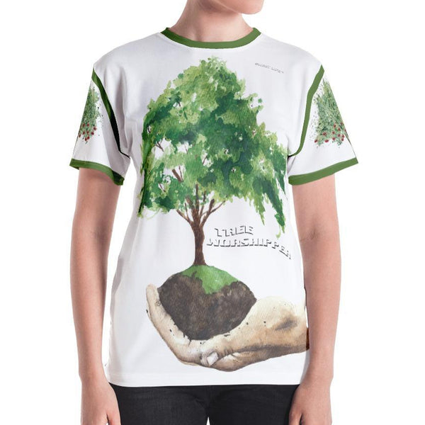 Tree Worshipper Women's Crew Neck T-Shirt - thiennas-sweet-life