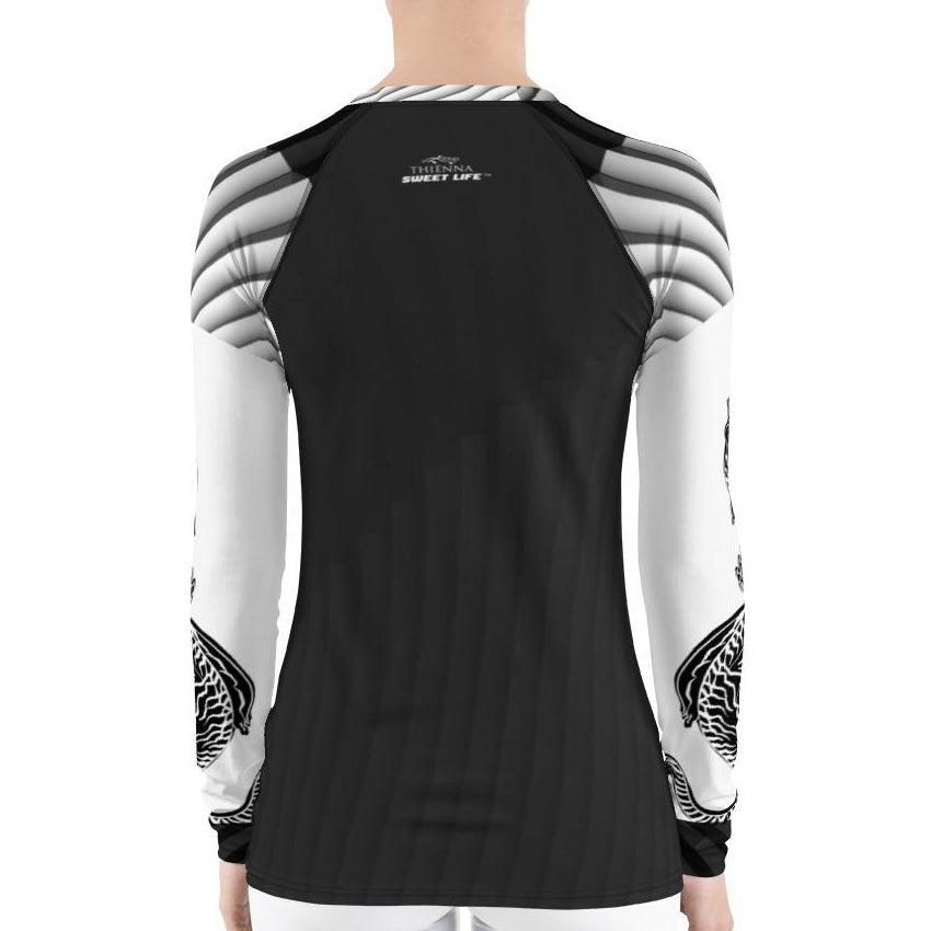 Thai Tiger Women's Rash Guard T-Shirts - thiennas-sweet-life