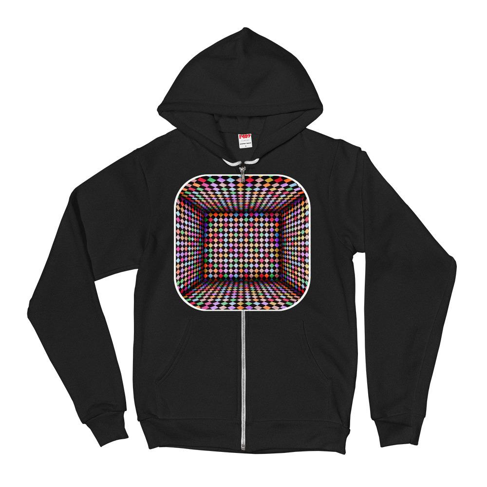 Checker Room Hoodie Sweater - thiennas-sweet-life